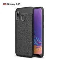 قاب ژله ای طرح چرم سامسونگ Auto Focus Jelly Case Samsung Galaxy A30