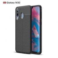 قاب ژله ای طرح چرم سامسونگ Auto Focus Jelly Case Samsung Galaxy M30