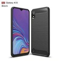 قاب محافظ ژله ای سامسونگ Carbon Fiber Cover For Samsung Galaxy A10