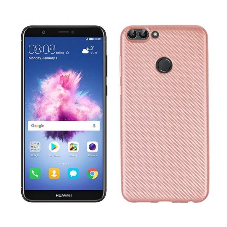 قاب محافظ ژله ای Haimen Carbon Fiber Case For Huawei P Smart