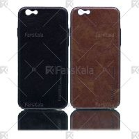 قاب محافظ چرمی اپل Huanmin Leather protective frame Apple iPhone 6/6S