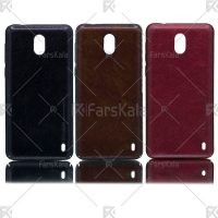 قاب محافظ چرمی نوکیا Huanmin Leather protective frame Nokia 2