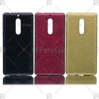 قاب محافظ چرمی نوکیا Huanmin Leather protective frame Nokia 5