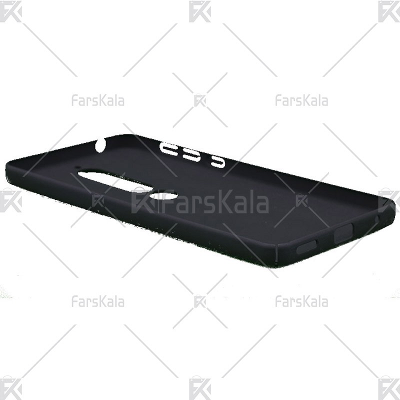 قاب محافظ چرمی نوکیا Huanmin Leather protective frame Nokia 6 2018