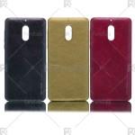 قاب محافظ چرمی نوکیا Huanmin Leather protective frame Nokia 6