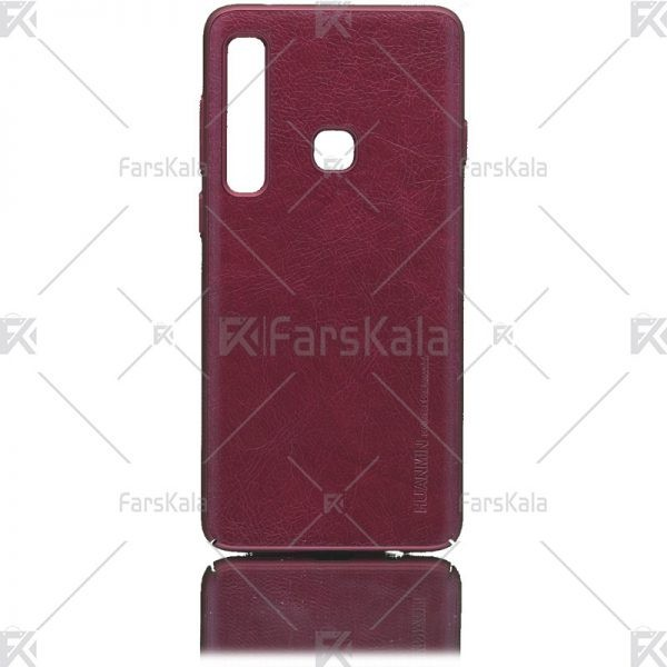 قاب محافظ چرمی سامسونگ Huanmin Leather protective frame Samsung Galaxy A9s, A9 Star Pro, A9 2018