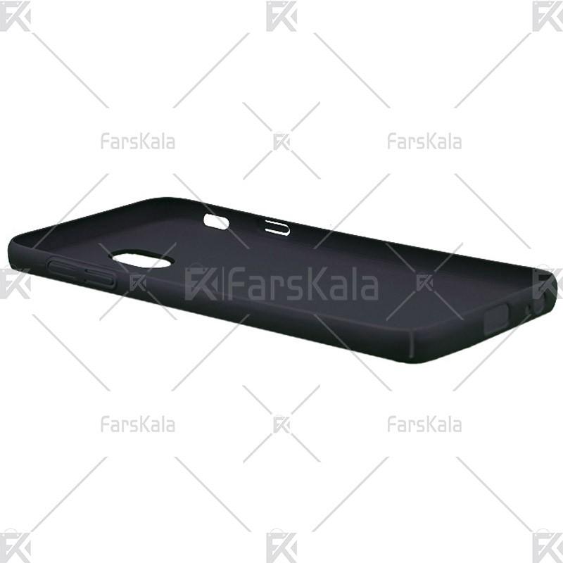 قاب محافظ چرمی سامسونگ Huanmin Leather protective frame Samsung Galaxy J4