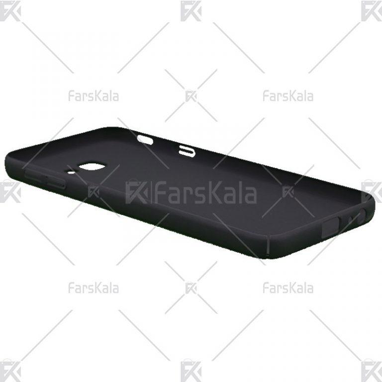 قاب محافظ چرمی سامسونگ Huanmin Leather protective frame Samsung Galaxy J4 Core