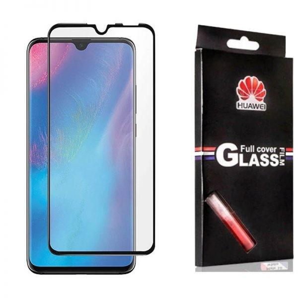 محافظ صفحه نمایش تمام چسب با پوشش کامل Glass Screen Protector For Huawei P30 Lite / Nova 4e