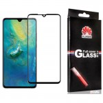 محافظ صفحه نمایش تمام چسب با پوشش کامل Glass Screen Protector For Huawei Mate 20
