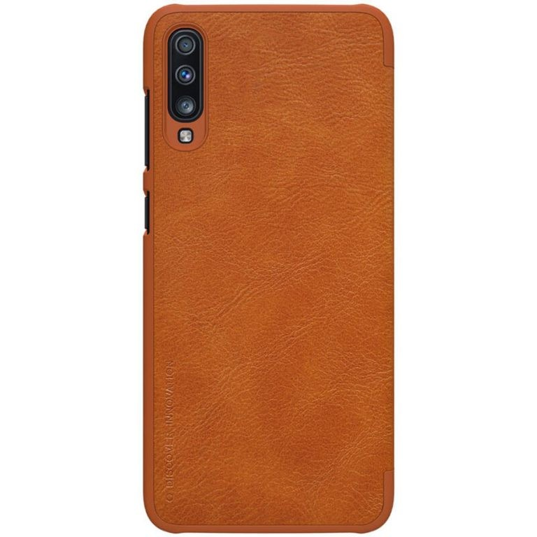 کیف چرمی نیلکین سامسونگ Nillkin Qin Series Leather case for Samsung Galaxy A70