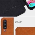 کیف چرمی نیلکین سامسونگ Nillkin Qin Series Leather case for Samsung Galaxy A70