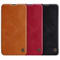 کیف چرمی نیلکین سامسونگ Nillkin Qin Series Leather case for Samsung Galaxy M10