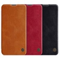 کیف چرمی نیلکین سامسونگ Nillkin Qin Series Leather case for Samsung Galaxy M20