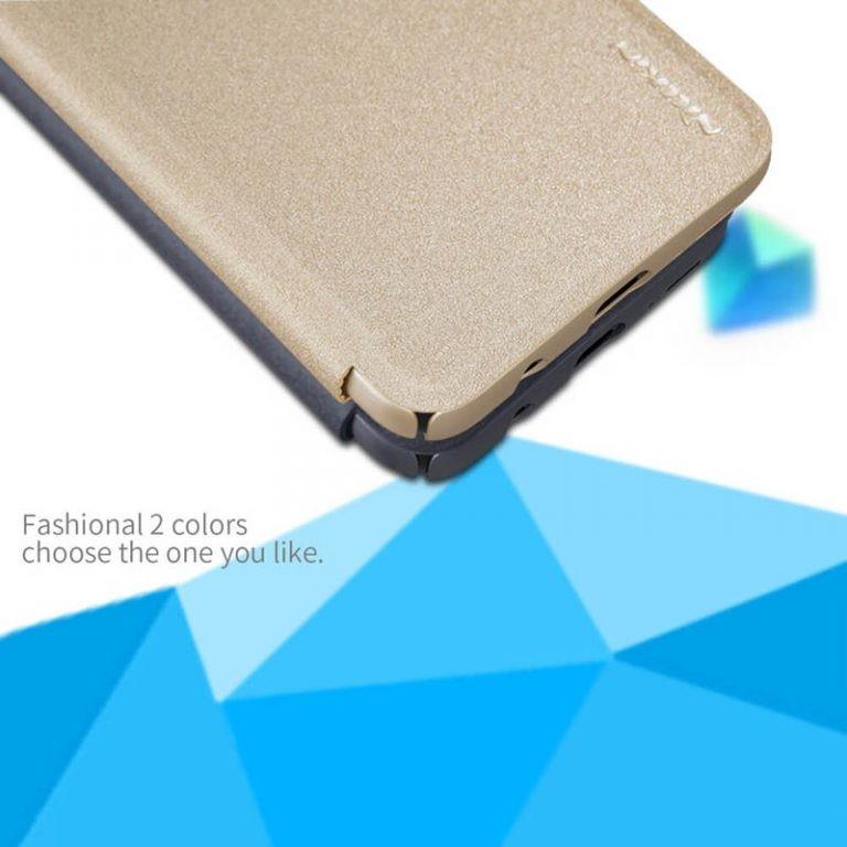 کیف نیلکین سامسونگ Nillkin Sparkle Series New Leather case for Samsung Galaxy A50