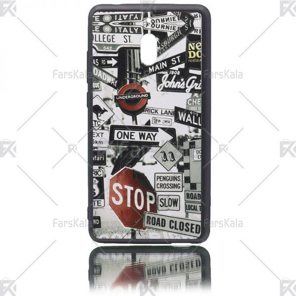 قاب محافظ طرح دار نوکیا Patterned protective frame Nokia 2.1