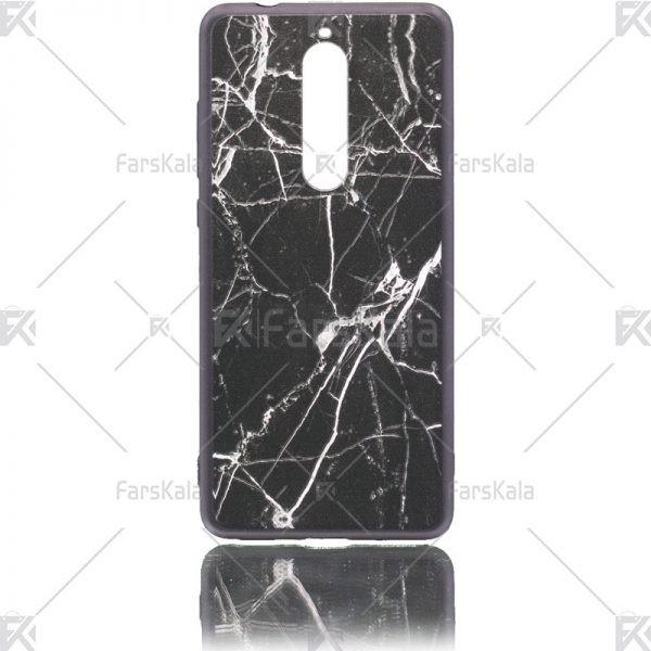قاب محافظ طرح دار نوکیا Patterned protective frame Nokia 5.1