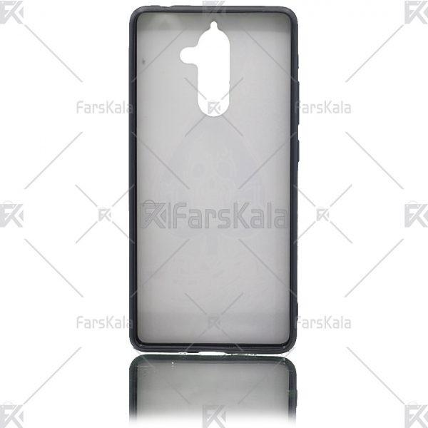 قاب محافظ طرح دار نوکیا Patterned protective frame Nokia 7 Plus