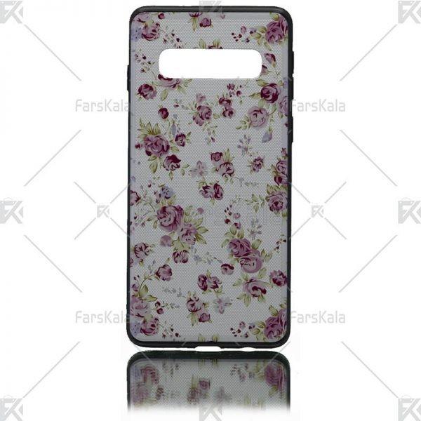 قاب محافظ طرح دار سامسونگ Patterned protective frame Samsung Galaxy S10
