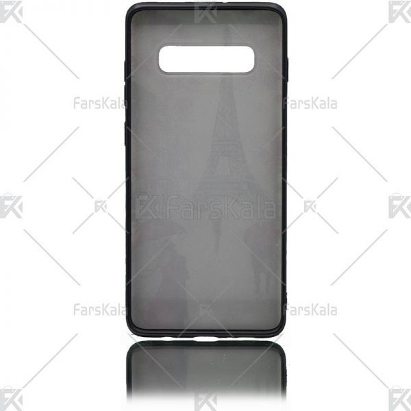 قاب محافظ طرح دار سامسونگ Patterned protective frame Samsung Galaxy S10 Plus