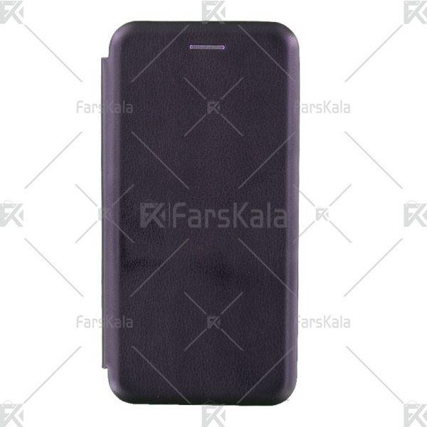 کیف محافظ چرمی هوآوی Standing Magnetic Cover Huawei Honor 10