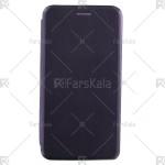 کیف محافظ چرمی هوآوی Standing Magnetic Cover Huawei Mate 10 Lite