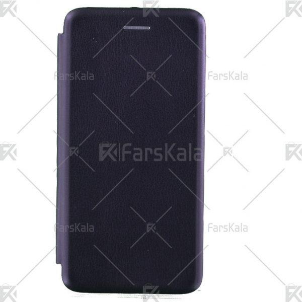 کیف محافظ چرمی نوکیا Standing Magnetic Cover Nokia 6.1 Plus / X6