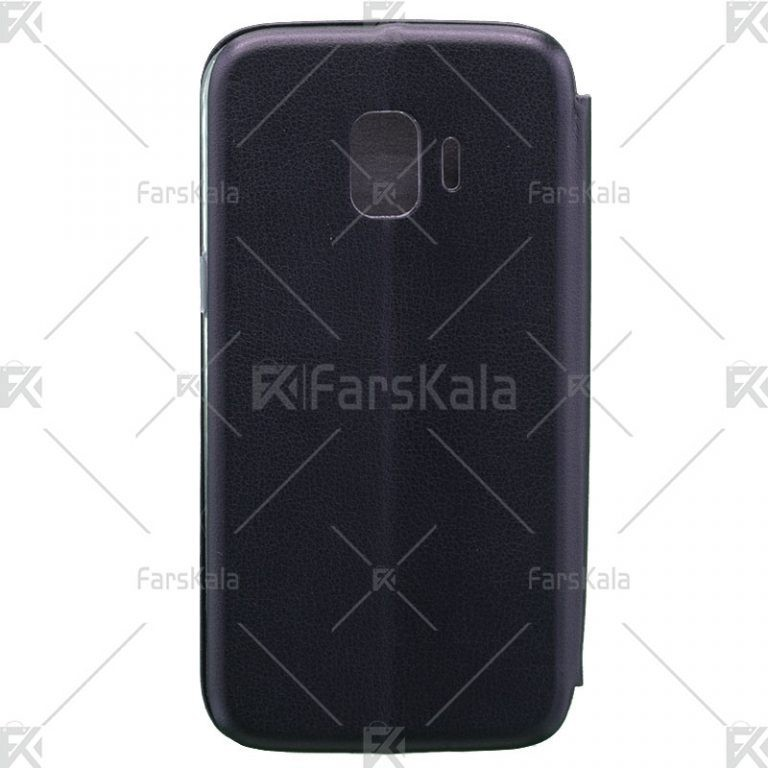 کیف محافظ چرمی سامسونگ Standing Magnetic Cover Samsung Galaxy J2 Core 2018
