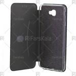 کیف محافظ چرمی سامسونگ Standing Magnetic Cover Samsung Galaxy J7 Prime