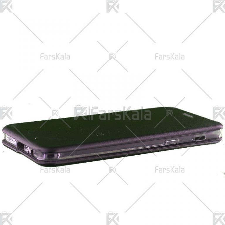 کیف محافظ چرمی سامسونگ Standing Magnetic Cover Samsung Galaxy J8