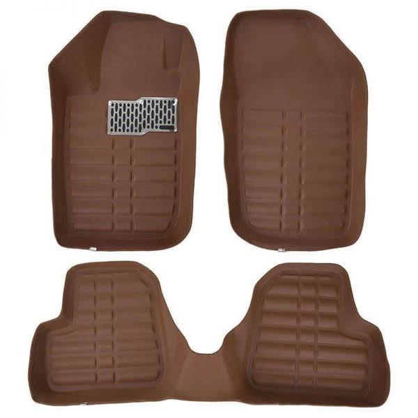 کفپوش چرم سه بعدی پالیز برای خودرو پژو 206کفپوش چرم سه بعدی پالیز برای خودرو پژو 206
