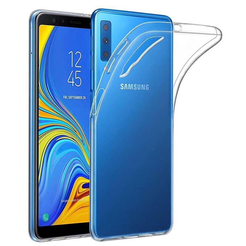 قاب محافظ ژله ای برای Jelly Clear Case For Samsung Galaxy A7 2018