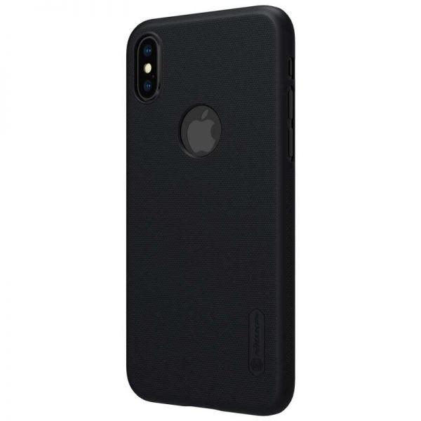 قاب محافظ نیلکین آیفون Nillkin Frosted Shield with LOGO cutout Case Apple iPhone X / XS