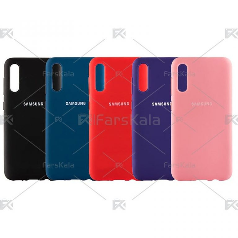 قاب محافظ سیلیکونی Silicone Case For Samsung Galaxy A50