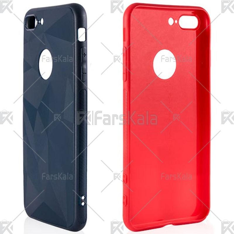 قاب محافظ ژله ای اپل Diamond Silicone Case For Apple iPhone 7 Plus/8 Plus