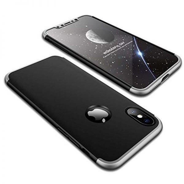 قاب محافظ با پوشش 360 درجه اپل GKK 360 Full Case For Apple iPhone X / XS