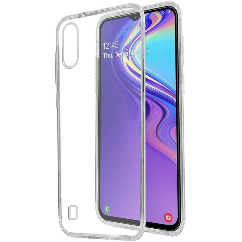 محافظ شیشه ای - ژله ای Transparent Cover For Samsung Galaxy A50