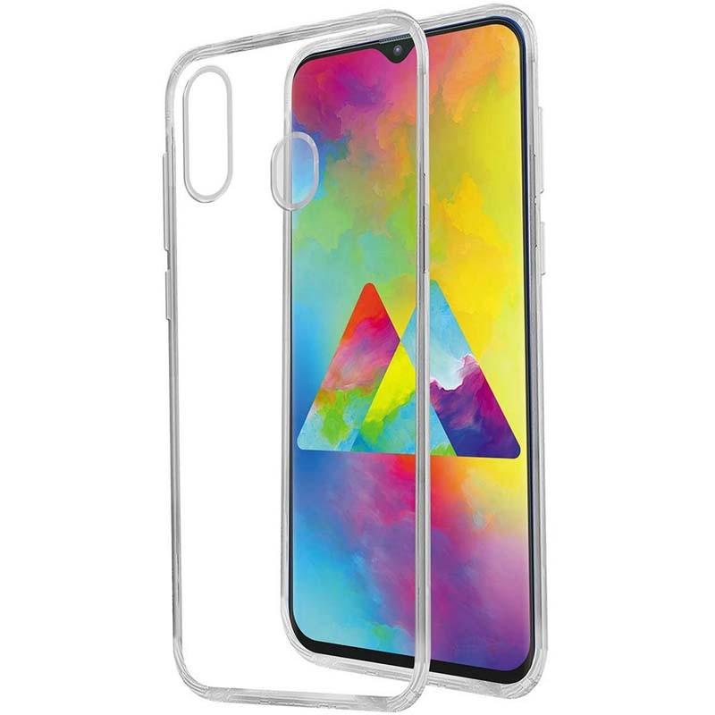 محافظ شیشه ای - ژله ای Transparent Cover For Samsung Galaxy A30