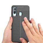 قاب ژله ای طرح چرم سامسونگ Auto Focus Jelly Case Samsung Galaxy A60
