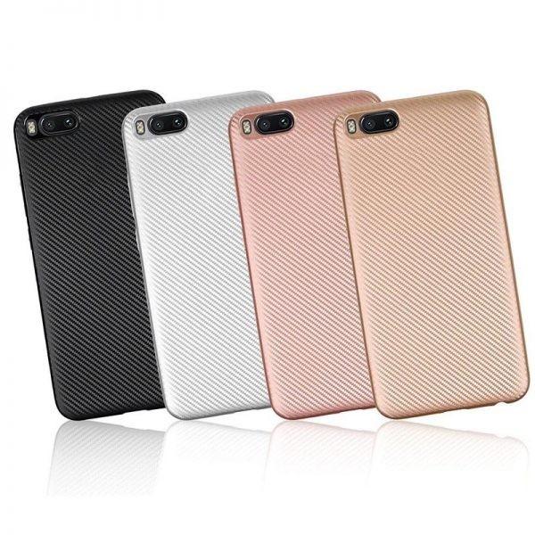 قاب محافظ ژله ای Haimen Carbon Fiber Case For Xiaomi Mi Note 3