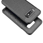 قاب ژله ای طرح چرم سامسونگ Auto Focus Jelly Case Samsung Galaxy S10e
