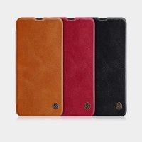 کیف چرمی نیلکین سامسونگ Nillkin Qin Series Leather Case For Samsung Galaxy A50