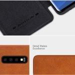 کیف چرمی نیلکین سامسونگ Nillkin Qin Series Leather case for Samsung Galaxy S10