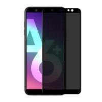 محافظ صفحه نمایش حریم شخصی تمام چسب با پوشش کامل Privacy Full Screen Protector For Samsung Galaxy A6 plus 2018