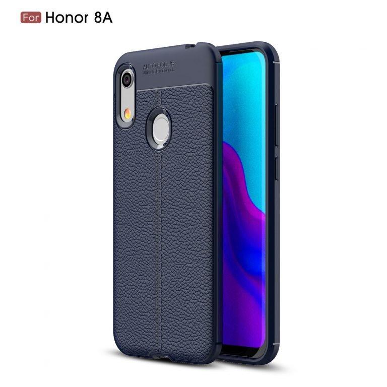 قاب ژله ای طرح چرم Auto Focus Jelly Case Huawei Honor 8A / Honor Play 8A