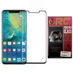 محافظ صفحه شیشه ای تمام صفحه تمام چسب خمیده RG Full Screen Protector For Huawei Mate 20 Pro