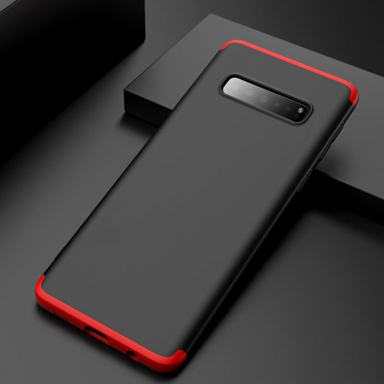 قاب محافظ با پوشش 360 درجه FULL Matte Hard Cover Case For Samsung Galaxy S10 Plus