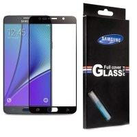 محافظ صفحه نمایش تمام چسب با پوشش کامل Full Screen Protector For Samsung Galaxy Note 5
