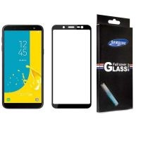 محافظ صفحه نمایش تمام چسب با پوشش کامل Full Screen Protector For Samsung Galaxy Samsung Galaxy J6
