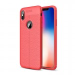قاب محافظ ژله ای طرح چرم Auto Focus Jelly Case Apple iPhone XS Max